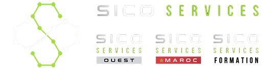 Logos Sico Services, ouest, maroc, formation